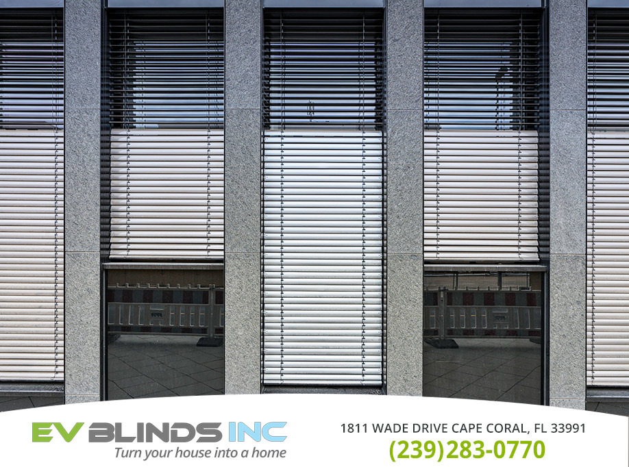 Automatic Blinds in and near Cape Coral Florida