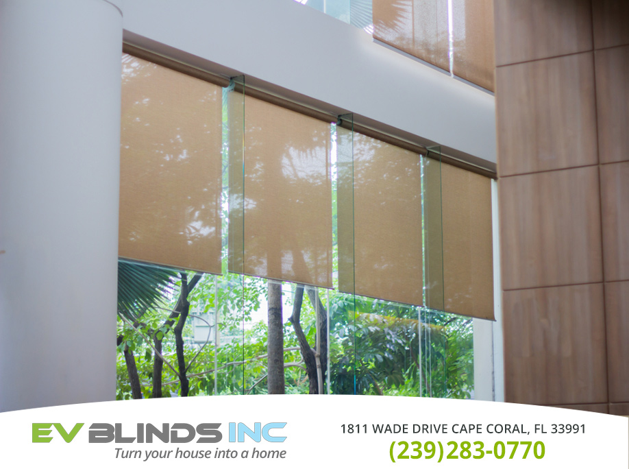 Hospital Blinds in and near Cape Coral Florida