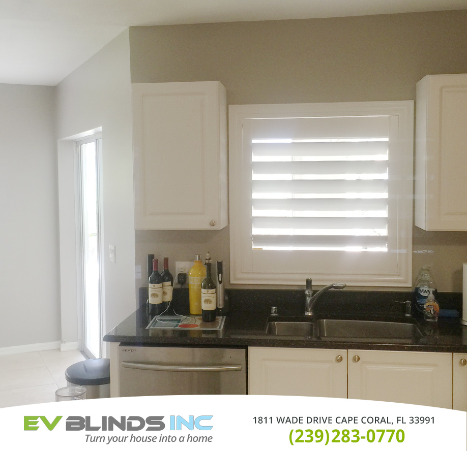 Kitchen Blinds in and near Cape Coral Florida