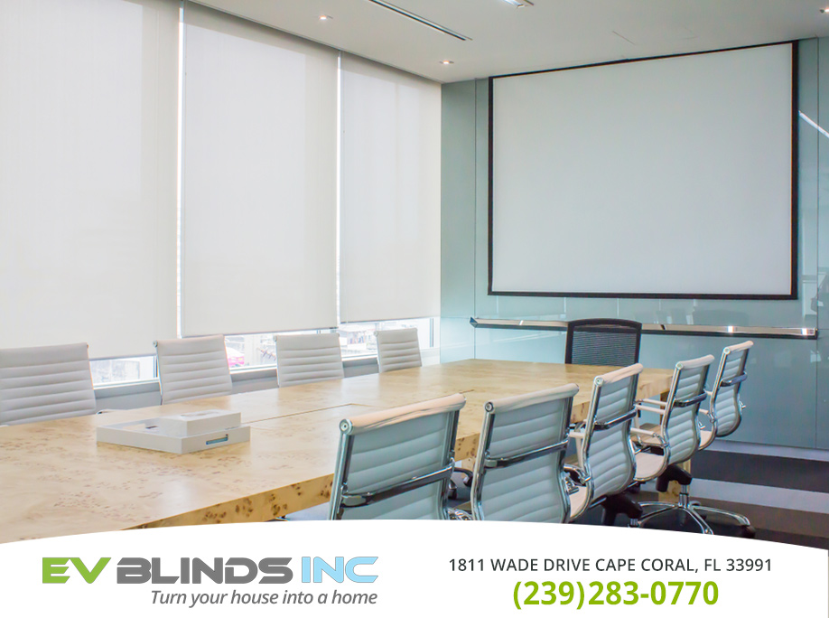 Office Blinds in and near Cape Coral Florida