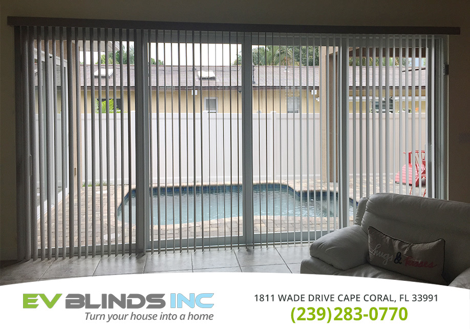 Vertical Blinds in and near Cape Coral Florida