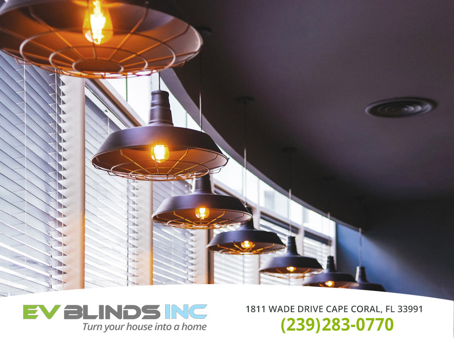 Restaurant Blinds In Estero Fl