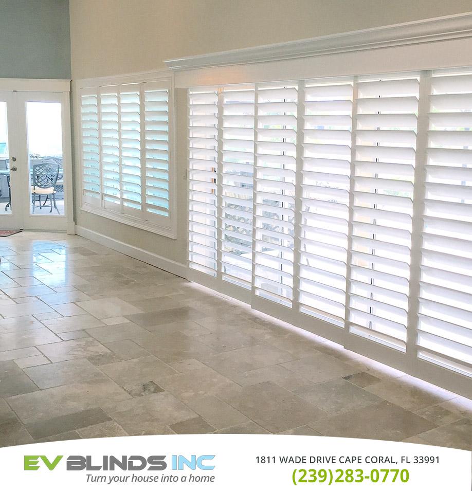 Sliding Door Blinds In Fort Myers Fl